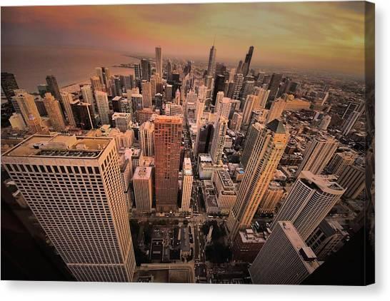 Chicago Skyline Canvas Print