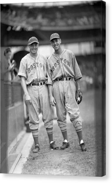 Braces Canvas Print - Boston Braves by Retro Images Archive