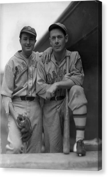 Braces Canvas Print - Boston Braves Baseball by Retro Images Archive