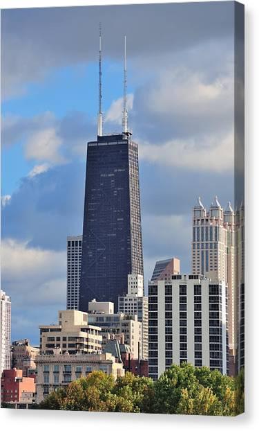 Chicago Hancock Building Canvas Print