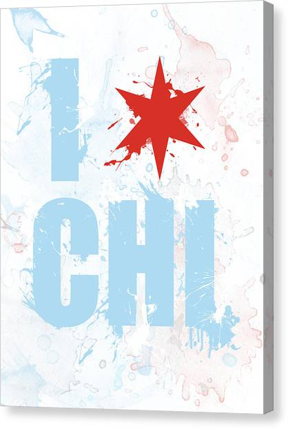 Chicago Love Too Canvas Print
