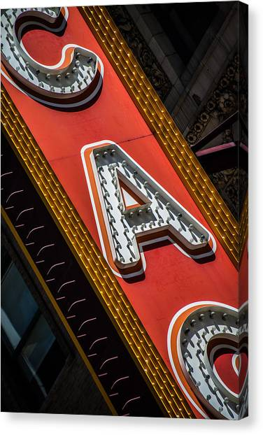Chicago Marquee Canvas Print