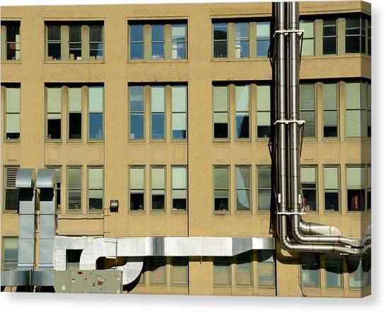 Precisionism Canvas Print - Chicago Precionist 9 by Steven Richman