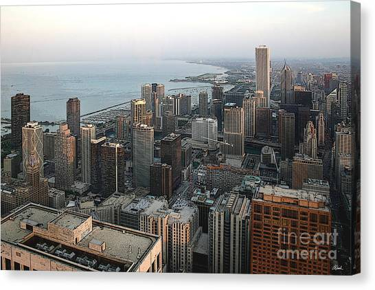 Chicago Shore Canvas Print by Bill Quick