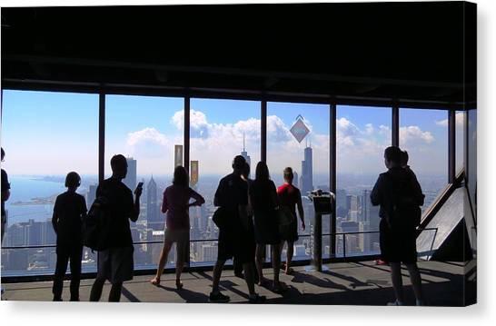 Chicago Skyline Canvas Print by Ed Golden