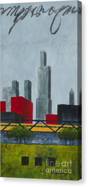 Chicago Skyline I Canvas Print