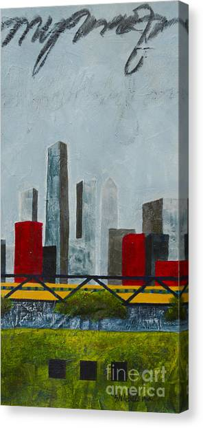 Chicago Skyline II Canvas Print