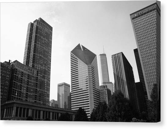 Chicago Skyscrapers Canvas Print