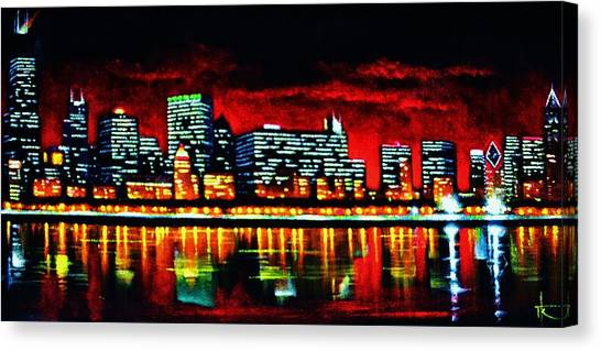 Chicago  Sold Canvas Print