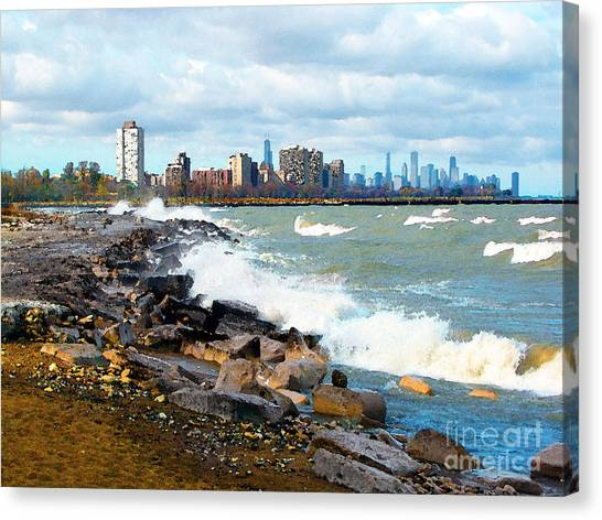 Chicago South Lakefront Canvas Print