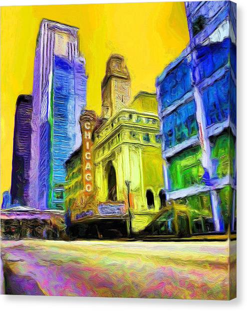 Chicago Theater Canvas Prints (Page #4 of 27) | Fine Art America