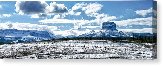 Chief Of The Mountains Canvas Print