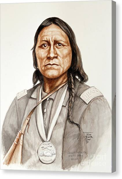 Chief Satanta Canvas Print