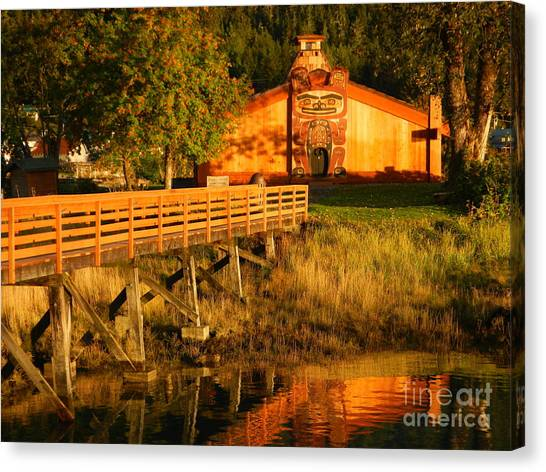 Chief Shakes House Canvas Print