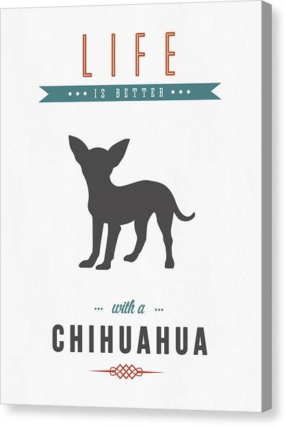 Chihuahuas Canvas Print - Chihuahua 01 by Aged Pixel