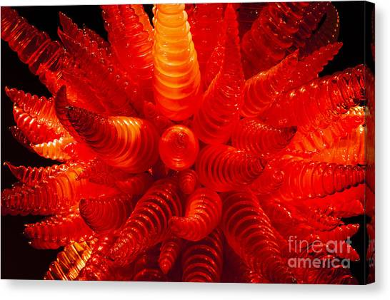 Chihuly Glass 2 Canvas Print
