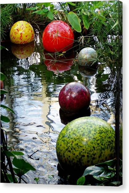 Chihuly Globes Canvas Print