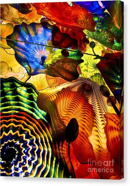Chihuly Persian Ceiling Canvas Print