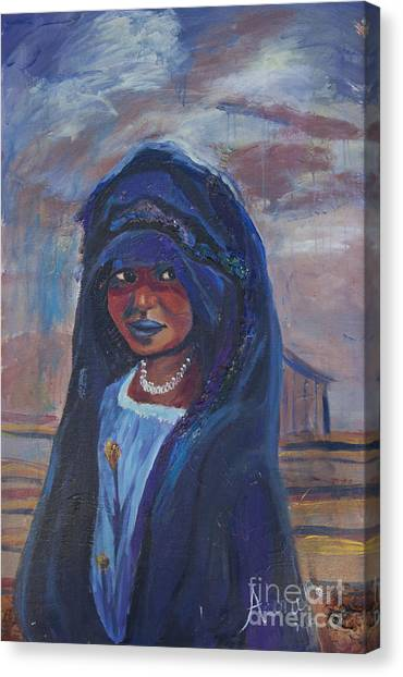 Child Bride Of The Sahara Canvas Print