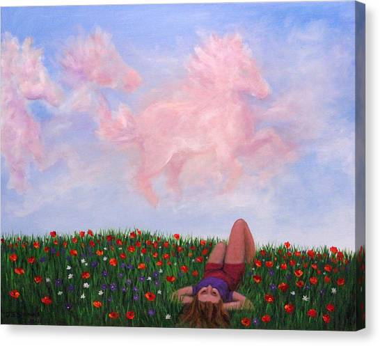 Childhood Day Dreams Canvas Print