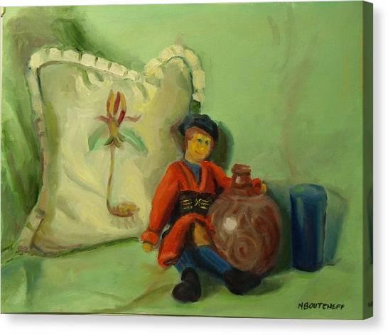 Childhood Dreams Rag Doll Canvas Print