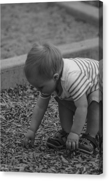 Childhood Treasures Canvas Print by Missy Boone
