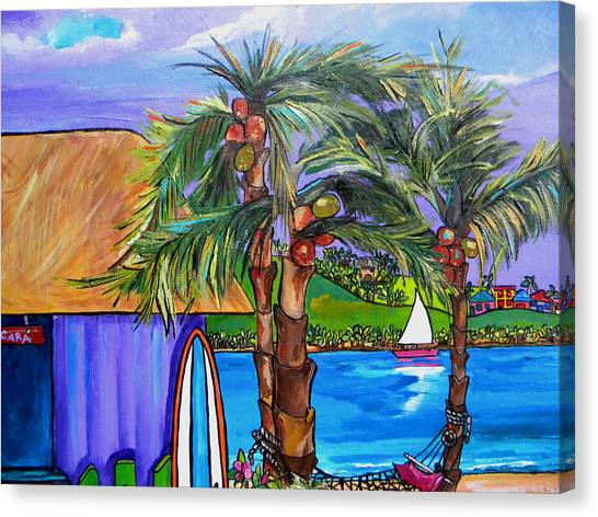 Chillaxing Canvas Print