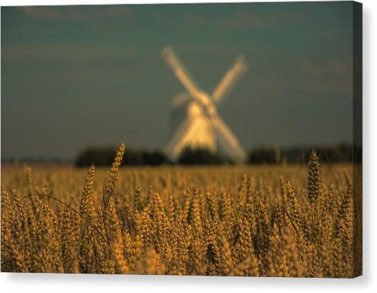 Chillenden Windmill Canvas Print