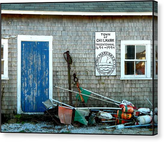 Chilmark Dock Shack Canvas Print