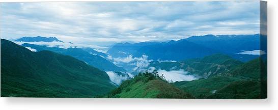 Cloud Forests Canvas Print - China, Sichuan, Cloud Forest by Panoramic Images