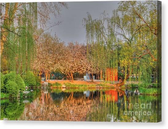 Chineese Garden Canvas Print