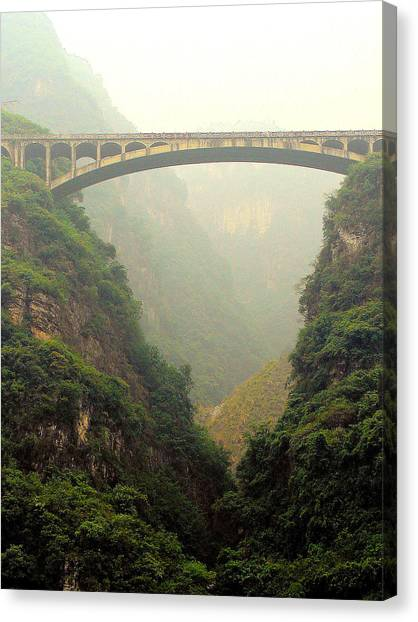 Chinese Bridge Canvas Print