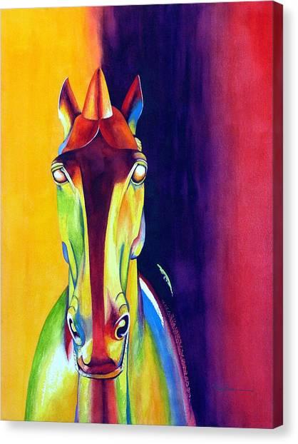 Chinese Dream Horse Canvas Print