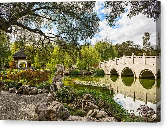 Chinese Bridge Canvas Prints