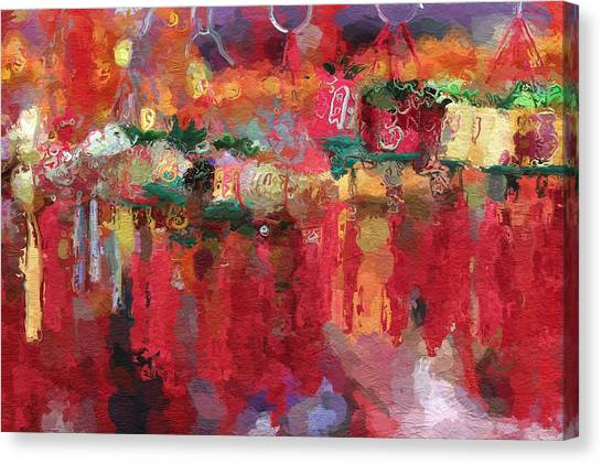 China Town Canvas Print - Chinese New Year by Steve K