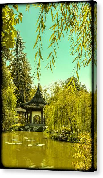 Chinese Pavillion Canvas Print