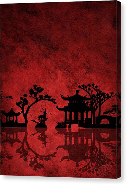 Chinese Red Canvas Print