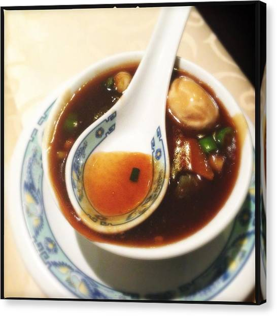 Still Life Canvas Print - Chinese Soup by Matthias Hauser