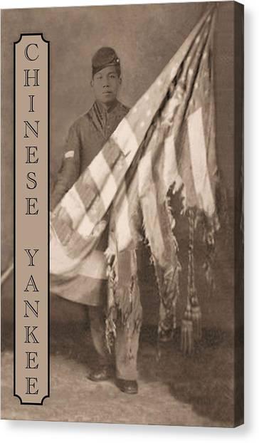 Chinese Yankee Canvas Print