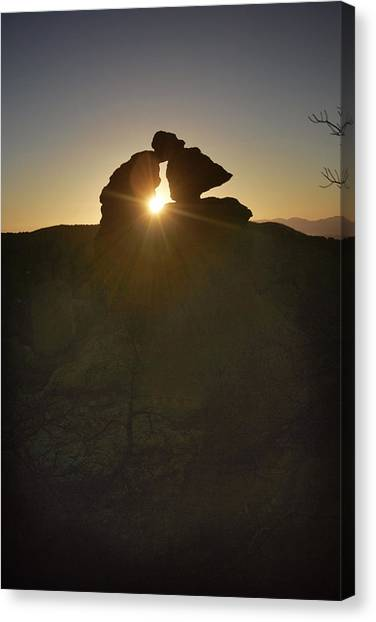 Chiricahua Sunset Canvas Print