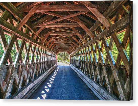Chiselville Bridge Canvas Print