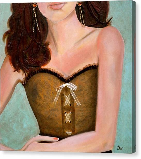 Chocolate Romance Canvas Print