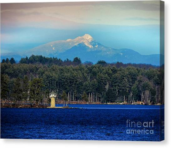 Chocorua And Spindle Point Canvas Print