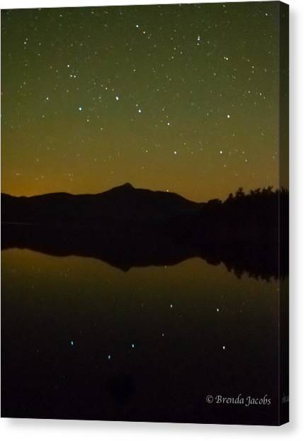Chocorua Stars Canvas Print