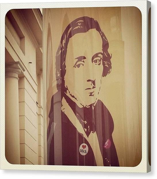 Chopin Canvas Print - Chopin by Giorgio Marcante