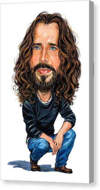 Chris Cornell Canvas Print by Art