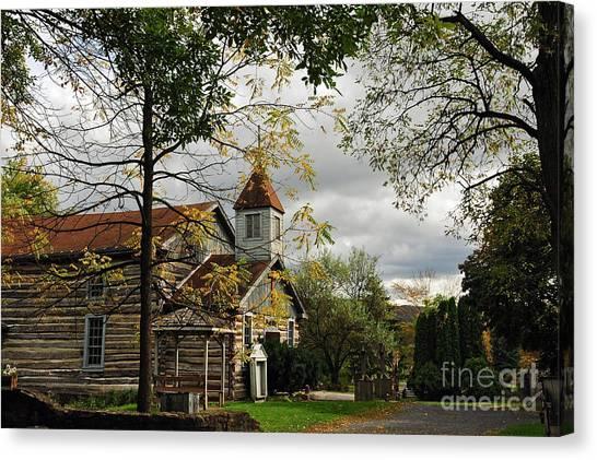 Old Christ Church Canvas Print - Christ Church by Lois Bryan