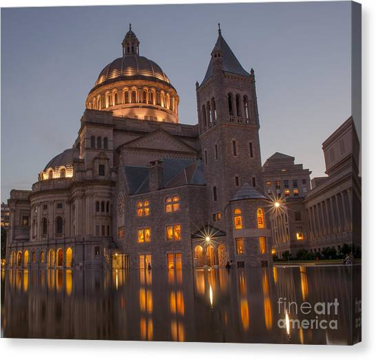 Christian Science Center 2 Canvas Print