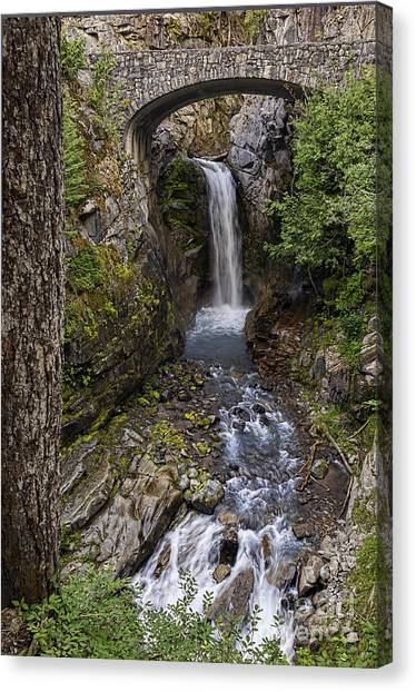 Christine Falls Canvas Print