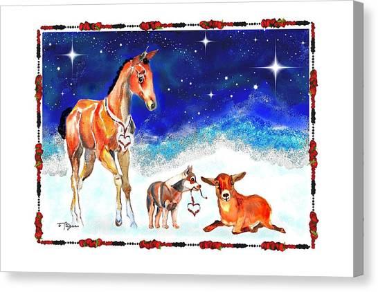 Christmas 4 Canvas Print